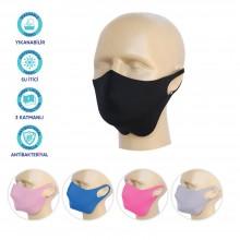 Antibakteriyal Mono Desenli Maske