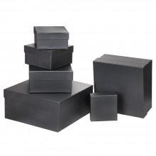 Özel Kağıt Kaplamalı Hediye Kutusu ( 11 x 10 x 6 cm )