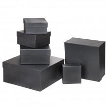 Özel Kağıt Kaplamalı Hediye Kutusu ( 16 x 16 x 9 cm )